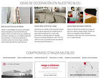 Stanzia Muebles - Furniture website