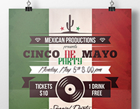 Cinco de Mayo Flyer Template