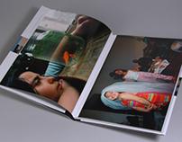 Photobook design Eén man, twee vrouwen en drie kinderen