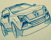 Automotive sketchbook