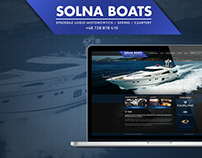 Solna Boats Website