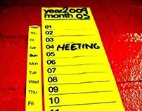 Everlasting Adhesive Calendar