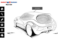 Design a Car - multi touch app