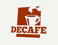 DECAFE brand identity