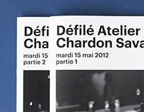 Défilé Atelier Chardon Savard