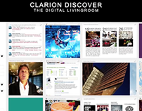 Clarion Discover - The Digital Living Room