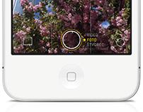 iOS 7 Camera App Reimagined