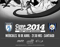 Final Copa Chile 2014 - Poster