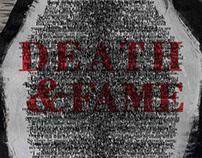 Death & Fame Poster