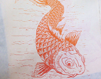 Koi Fish Print (updated)