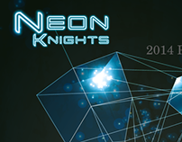 Neon Knights 2014 Tour and EP artwork