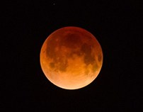 Blood Moon - Total Eclipse - April 2014