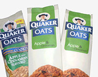 Redesign l Quaker Oats Package