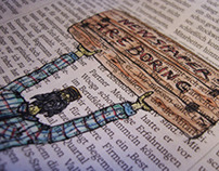 Newspapers are boring