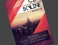 City Skyline Flyer
