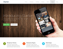Starter Free Wordpress Theme