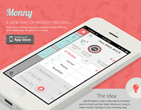 Monny - Track your money in a fun and challenge way