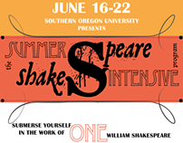 SOU Summer Shakespeare Intensive Program