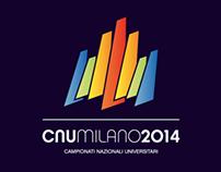 CNUMilano2014 Logo // Campionati Nazionali Universitari