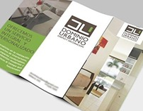 D. Urbano \ tri-fold brochure design by Jaime Claure