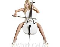 WHITE CELLO