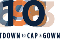 Countdown to Cap & Gown Campaign