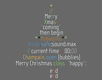 Coded Xmas Tree