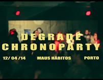 Degradê Chronoparty Theme: Burlesque