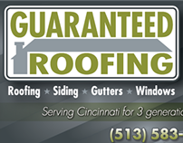 Guaranteed Roofing Ads