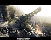 Necrowarp - Arcade Sidescroller Art Project