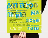 "Poster ""Anatomia Mascherata"" / evento+dibattito / 2014"
