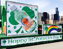 Caffeinated Club® St. Patrick's Day Float