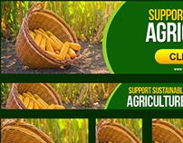 Agriculture Premium Banner Templates