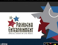 Pasadena Entertainment Website