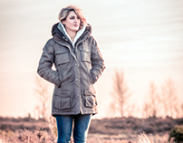 "Available light shooting at ""Lüneburg Heath"""