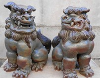 Shisa leão