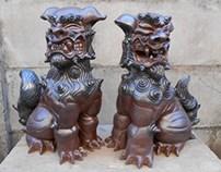 Shisa de 4 faces