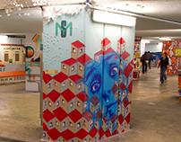 Street Art in Portugal - Alcantara Tunnel Regeneration