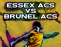 Essex vs Brunel Poster
