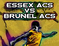 Essex vs Brunel Poster