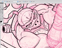 TMNT: SPEED INKING VIDEO