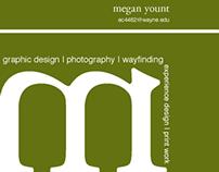 Self-promotional Piece & Business Card