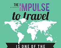 Travel Quote Typographic Poster