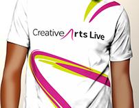 Creative Arts Live - Rebrand