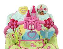 *WINNER 2013 GDUSA* Disney Baby Princess Bouncer P.O.P
