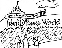 Storyboard for a Disney service