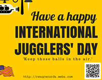 Happy International Jugglers' Day