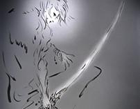 Ink fantasy mythology《无神无天#XUN-开天卷##XIAOZADY#》