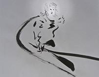 Ink fantasy mythology《阴魂不散#XUN-轮回卷##XIAOZADY#人间道》