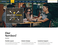 GraphicMode - HTML Template
